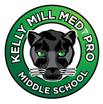 Kelly Mill Med Pro Middle Logo