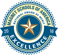 Magnet Schools of America School of Excellence Award logo